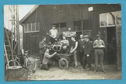 CPA PHOTO Métier Ouvriers Service Electrique De 1909 THAON LES VOSGES 88 - Thaon Les Vosges