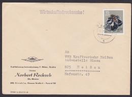 Galenit Aus Neudorf Harz  15 Pf. Wirtschafts-Drucksache Erz, DDR MiNr. 1470 Abs. Aus Strehla - DDR