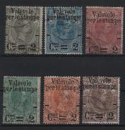 1890 Valevole Per Le Stampe Serie Cpl