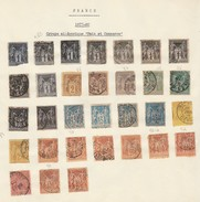 Lot Of 31 Stamps * France
