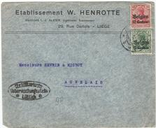 _6Rm-736: Open Brief: N° OC2&3 : +censuur Lüttich > Auvelais... Verder Uit Te Zoeken...