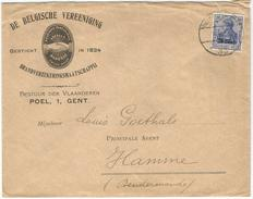_6Rm-735: Open Brief: N° OC18 : > Hamme... Verder Uit Te Zoeken...