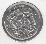 BELGIE - BELGIQUE 10 Frank  1973  -  MISSLAG -- Stempel Doorslag Rand Munt - Hap Uit De Munt - 1951-1993: Baudouin I