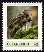ÖSTERREICH 2014 ** Wildschwein / Sus Scrofa - PM Personalized Stamp MNH - Selvaggina