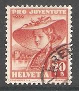 004446 Switzerland Pro Juventute 1939 20c FU - Pro Juventute