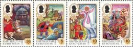 Kyrgyzstan 1999 Mih. 176/79 Tales Of Pushkin MNH ** - Kirgisistan