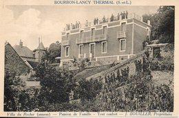71. Bourbon Lancy. Villa Du Rocher. Pension De Famille - Autres Communes