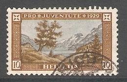 004449 Switzerland Pro Juventute 1929 10c FU - Pro Juventute