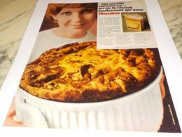 ANCIENNE PUBLICITE PUREE MOUSLINE 1968 - Posters