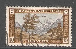 004450 Switzerland Pro Juventute 1929 10c FU - Pro Juventute
