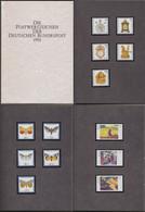 Bund: Minister Book - Ministerbuch / Ministerjahrbuch 1992 Cs, Silbern, Komplett Postfrisch !       X
