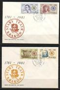 POLAND FDC 1981 200TH ANNIV OF KRAKOW THEATRE UNESCO World Heritage Site Architecture Drama