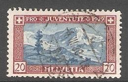 004451 Switzerland Pro Juventute 1929 20c FU - Pro Juventute