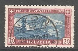 004453 Switzerland Pro Juventute 1929 20c FU - Pro Juventute