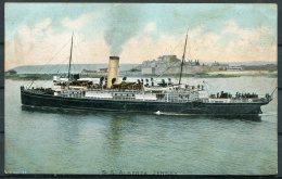 1904 S.S. ALBERTA, Jersey Ship Postcard - Camart / Granville France