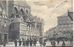 LEUVEN 1903  LOUVAIN  LA GRAND PLACE    MOOIE UITGIFTE - Leuven