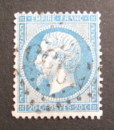 LOT R1631/582 - NAPOLEON III N°22 - GC 5055 PHILIPPEVILLE (ALGERIE) INDICE 3 - 1862 Napoléon III