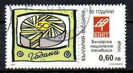 BULGARIE. Timbre Oblitéré De 2009. Télévision Bulgare.