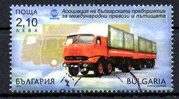 BULGARIE. Timbre Oblitéré Issu D'un BF De 2012. Camion.