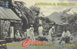 ANTIGUA : 054C EC$20 Rural Antiguan USED - Antigua En Barbuda