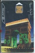 PARIS Arc De Triomphe - Monument Télécarte Blister Phonecard  (S 38) - Paysages