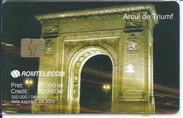 PARIS Arc De Triomphe - Monument Télécarte Phonecard  (S 39) - Roumanie