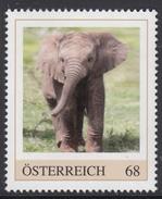 ÖSTERREICH 2017 ** Afrikanischer Elefant - PM Personalized Stamps MNH