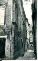 N°30892 -cpa Meyrueis -rue De La Ville- - Meyrueis