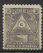 NICARAGUA..1898..Michel # 99 X...MH. - Nicaragua