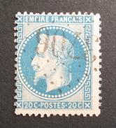 LOT R1631/880 - NAPOLEON III Lauré N°29B - GC 3706 SAINT LAURENT DE NESTE (Hautes Pyrénées) INDICE 5 - 1863-1870 Napoleon III With Laurels