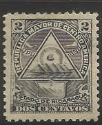 NICARAGUA..1898..Michel # 99 Y...MH. - Nicaragua