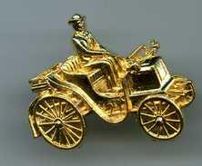 FEVES - FEVE DOREE  - LES INVENTIONS DU XIXème SIECLE - AUTOMOBILE - VOITURE ANCIENNE - Autres