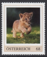 ÖSTERREICH 2017 ** Löwe, Lion - PM Personalized Stamps MNH
