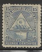NICARAGUA..1898..Michel # 103 Y...MH. - Nicaragua
