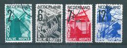 Pays Bas Timbres De 1932  N°241 A 244    Oblitérés