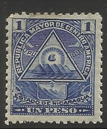 NICARAGUA..1898..Michel # 106 Y...MH. - Nicaragua