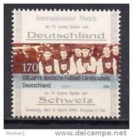 Germany 2008 Football Soccer Stamp MNH