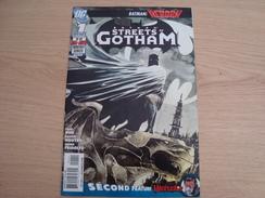 BD US BATMAN SREETS OF GOTHAM N°1 - DC
