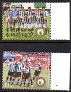 Paraguay 3138/39 Club Rubio Nu