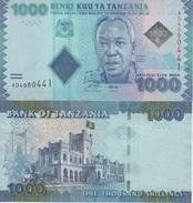 (B0722) TANZANIA, 2011 (ND). 1000 Shilingi (Shillings). P-41a. UNC - Tanzanie