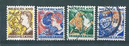 Pays Bas Timbres De 1932  N°245 A 248    Oblitérés