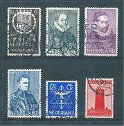 Pays Bas Timbres De 1933  N°249 A 254    Oblitérés