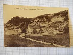CPA (39) BOURG DE SIROD - JURA - RUINES DU CHATEAU VILLAIN -  RARE PHOTO CARTE -  R1617 - Zonder Classificatie
