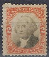 Sello 2 Ctvos Washington, U.S. Inter Rev. 1866, Fiscal * - Revenues