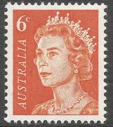 Australia. 1966-73 QEII Definitives. 6c MH SG 387a - 1966-79 Elizabeth II