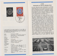 Feuillet Poste FDC 1496 OTAN