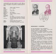 Feuillet Poste FDC 1499 Mgr Scheppers Liège