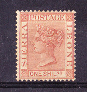 Sierra Leone 1883-1 S. Nuovo MLH