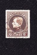 Timbre De Belgique Oblitéré N° Y. & T. 289