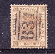 Sierra Leone 1883-4 P.Usato